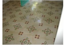 Cement grout floors