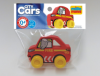 Firemen Red Toy Car