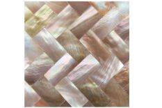 MOTHER OF PEARL DIAGONAL BROWN LIP SURFACE