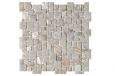 MOTHER OF PEARL MOSAIC MULTISIZE CREAM