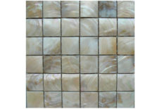 MOTHER OF PEARL MOSAIC CARVING A30 CREAM