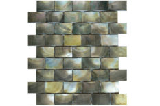 MOSAICO IN MADREPERLA RILIEVI B25 BLACK LIP