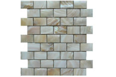 MOSAICO IN MADREPERLA RILIEVI B25 CREAM