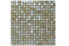 MOTHER OF PEARL MOSAIC CARVING D30 GOLD LIP