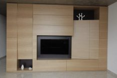 Parete living design Moderno