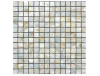 MOTHER OF PEARL MOSAIC SQUARE CREAM