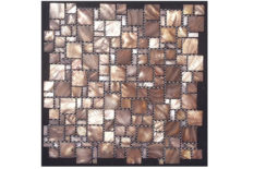 MOSAICO IN MADREPERLA MULTISIZE BROWN