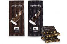 Chocolate bars, chocolates filled with cream, hazelnut cream spread