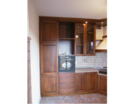 Italian walnut kitchen