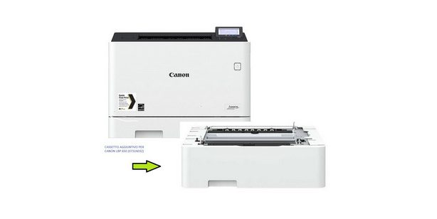 Stampante Canon Laser i-Sensys LBP653Cdw