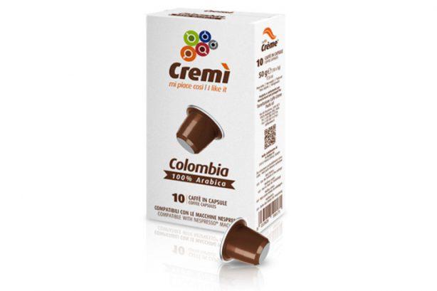 CAPSULA COLOMBIA CREMI CF. 10 PZ. NESPRESSO COMPATIBILE