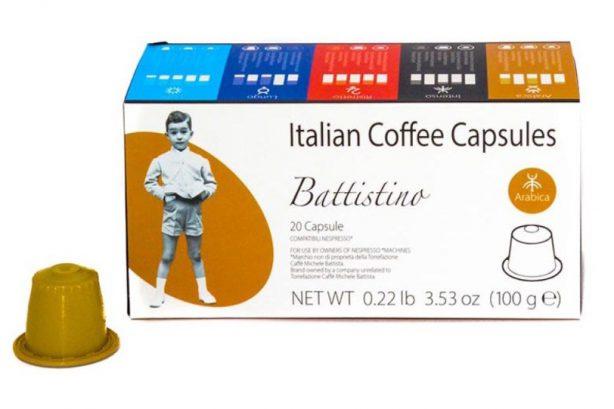 100 Arabic taste capsules – compatible with Nespresso machines