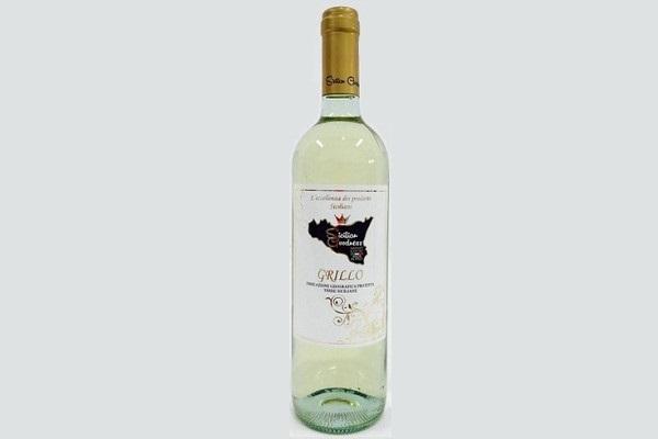 """D.O.C. White Wine """"Grillo"""" 75 cl"""
