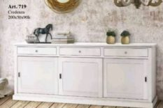 Wooden cupboard color white