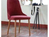 Sedia con gambe frassino