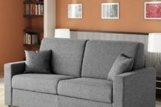 Sofa convertible in double bed