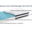 Materasso Ortopedico Memory 9 Zone 80×190