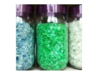 Clear pet bottle flake plastic scrap